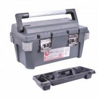 Ящик для инструмента с металлическими замками 20 дюймов, 500x275x265 мм BX-6020 INTERTOOL