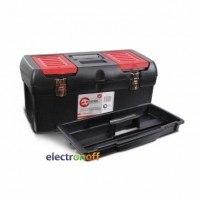 Ящик для инструмента с металлическими замками 24 дюйма 610 x 255 x 251 мм BX-1024 INTERTOOL