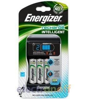 Зарядное устройство Energizer Intelligent Charger ( + 4 аккумулятора типа АА на 2000 мАЧ в комплекте)